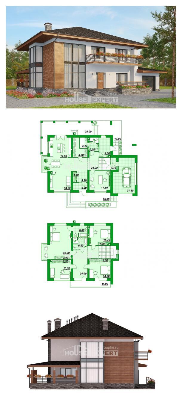 Проект дома 305-001-П | House Expert
