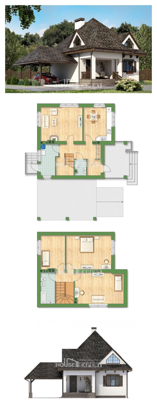 Проект дома 110-002-Л | House Expert