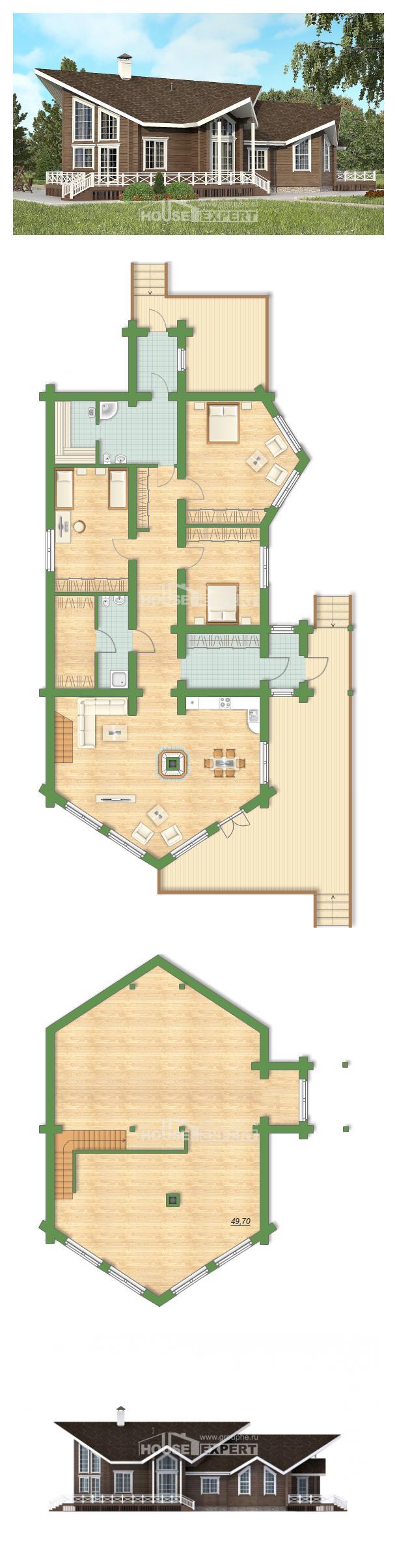 Проект дома 210-002-Л | House Expert