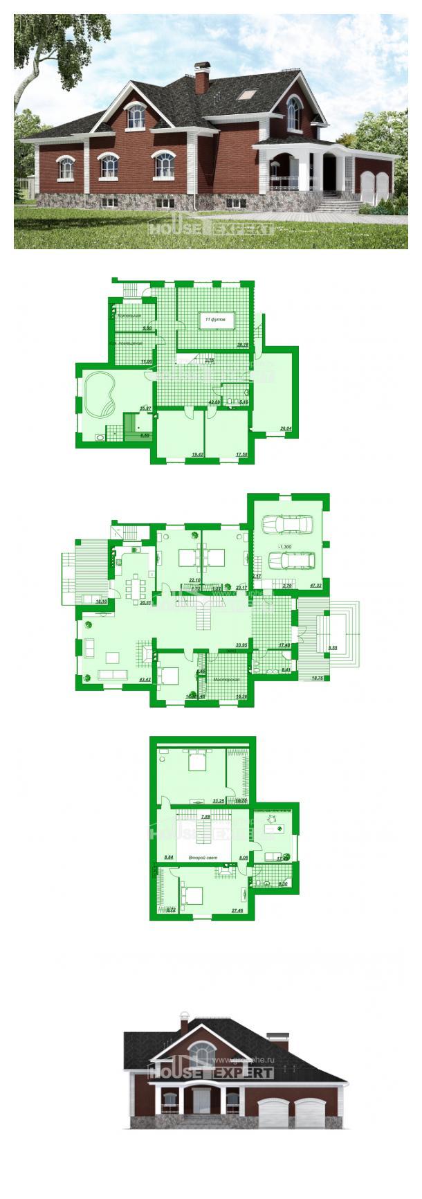 Проект дома 600-001-П | House Expert