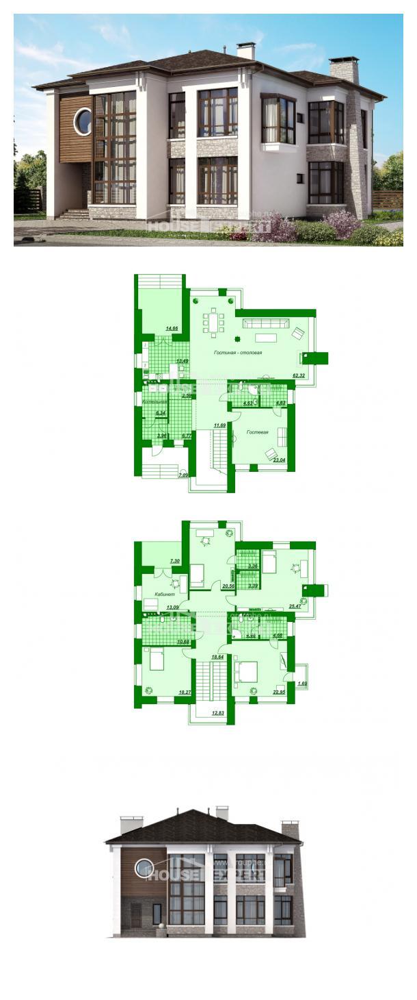 Проект дома 300-005-П | House Expert