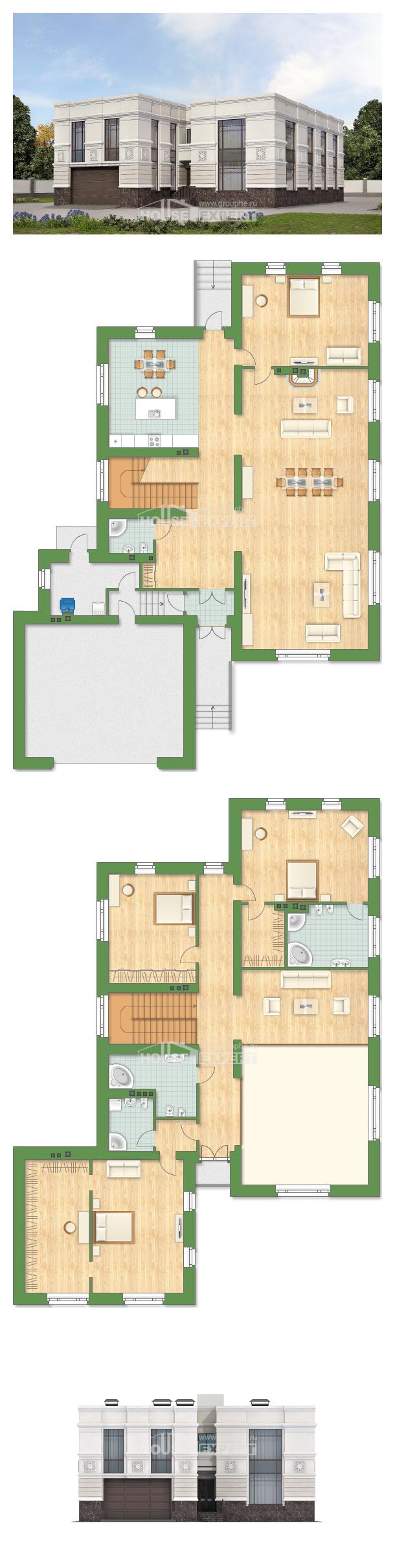 Проект дома 400-005-Л   House Expert