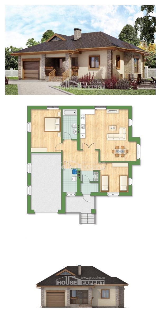 Проект дома 130-006-Л   House Expert