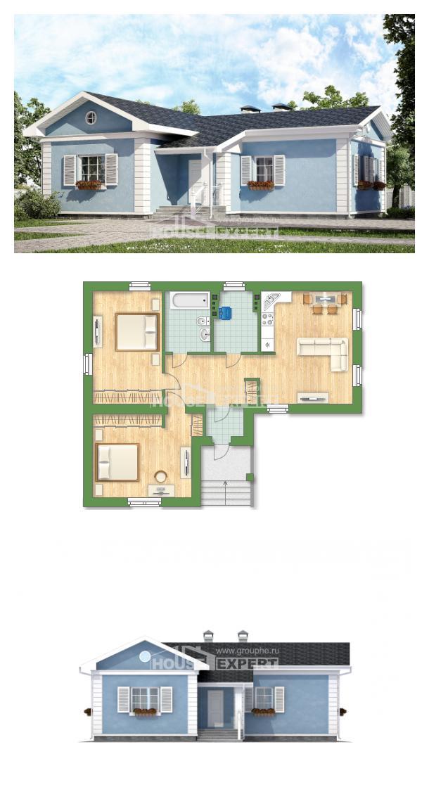 Проект дома 090-004-П | House Expert